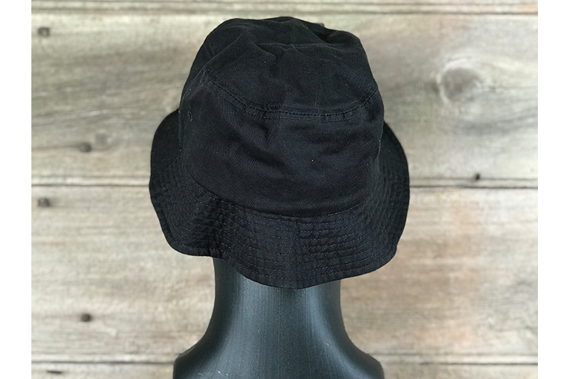 Bucket - Black - Back