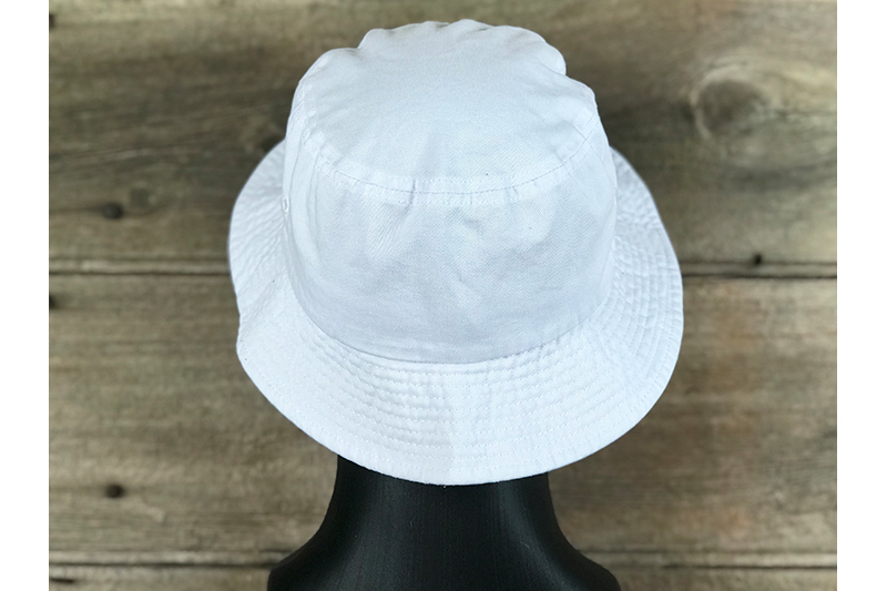 Bucket - White - Back